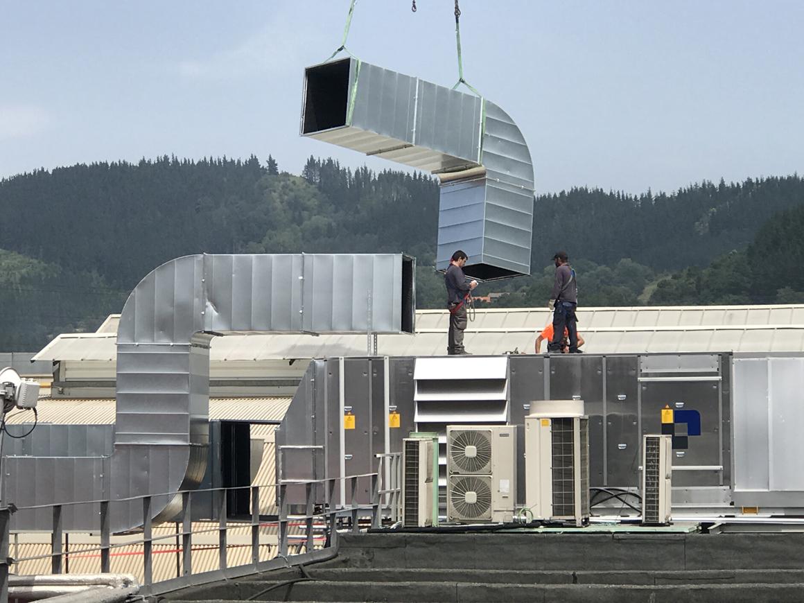 Climatización, roof top, humidificación, CDI, climtización diseño e ingeniería