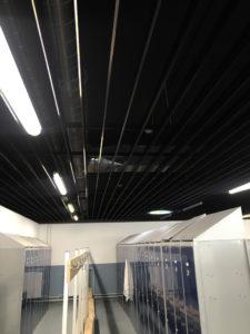 climatizacion y renovación de aire en vestuario