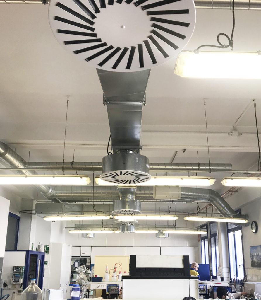 climatización de laboratorio de automoción CDI